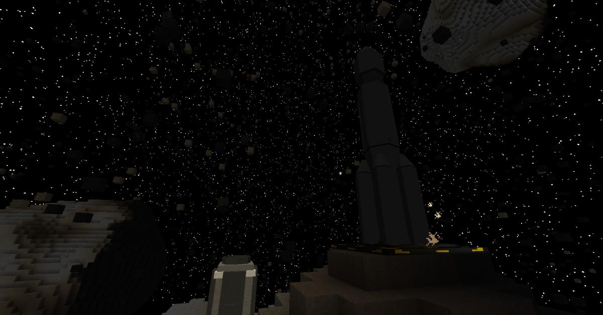 упавшие метеориты в майнкрафте галактик кравт #7